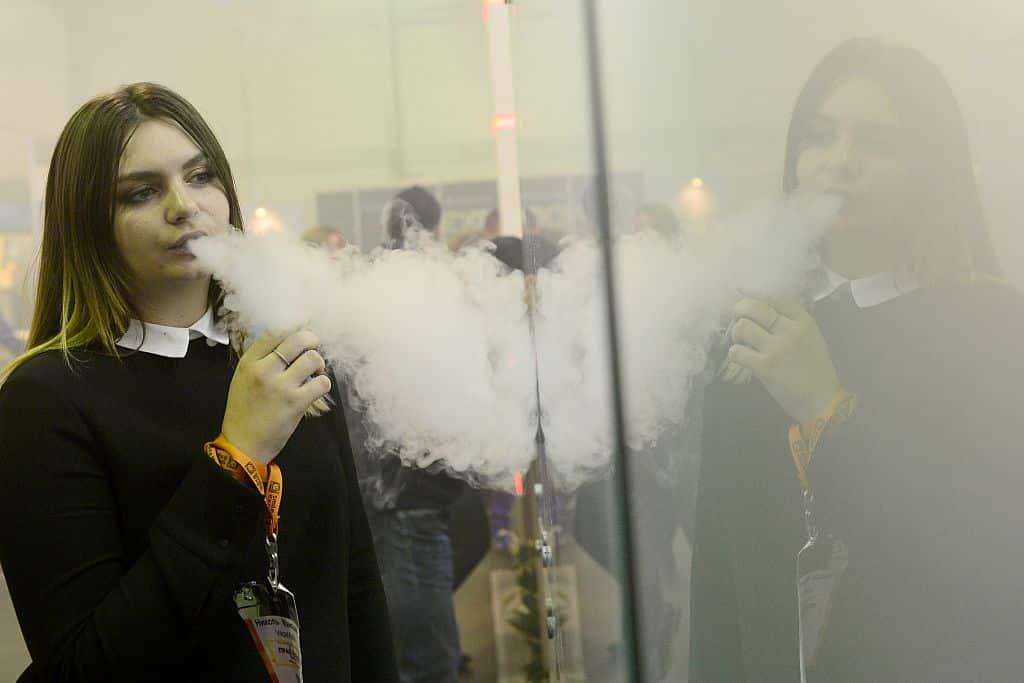 E cigarette lors du changement de l'atomiseur?