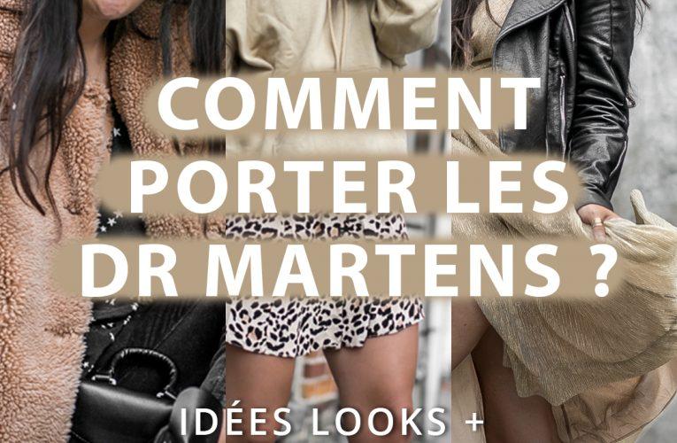 4 façons de porter des Dr Martens avec style