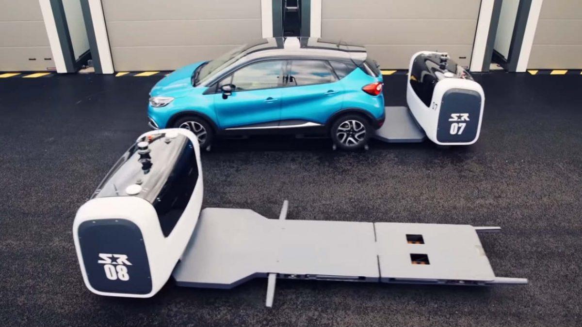 Le parking robotisé de l'aéroport Saint-Exupéry : un vrai succès